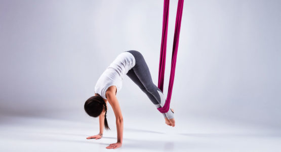Discover a passion for flying yoga - Acrobatics, artistry, sports & dance